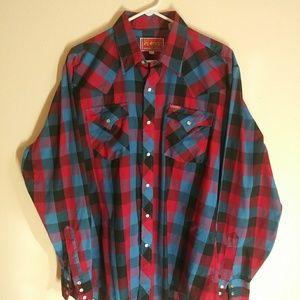 Other - Vintage Ely Plains Large mens shirt